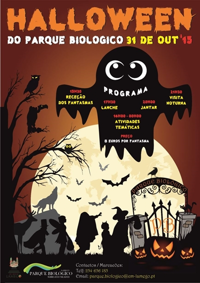 Halloween Parque biologico2015